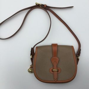 Vintage Dooney & Bourke Bag Tan Brown